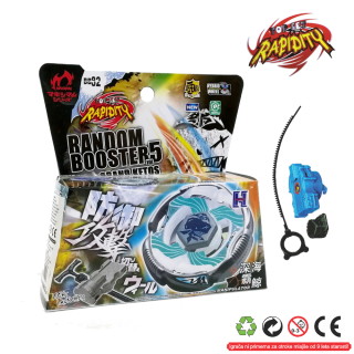 Top Metal Fusion 4D Random Booster