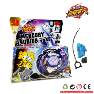Top Metal Fusion 4D  Mercury Anubis