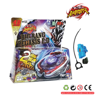 Top Metal Fusion Master 4D  Big Rang Pegasis