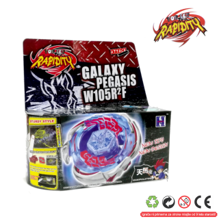 Top Metal Fusion Master  Galaxy Pegasis