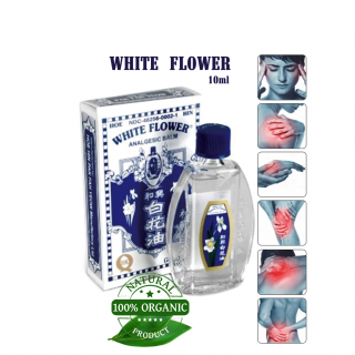 WHITE OIL FLOWER 10 ml