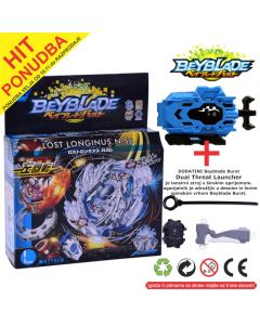 Beyblade BURST Lost Longinus.N.Sp  + HIT B48-LONCHER