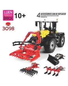 Blok set KOCKE - 3098 kom Tractor 4in1