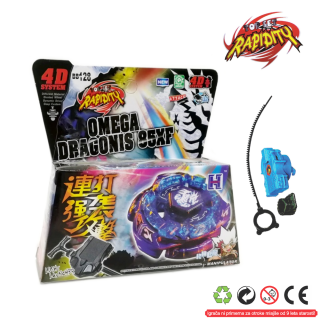 Top Metal Fusion 4D Omega Dragons