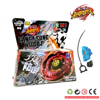 Top Metal Fusion Master 4D Fang Leone RED