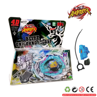 Top Metal Fusion 4D Blitz Unicorno