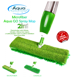 Aqua GO Spray Mop 2in1