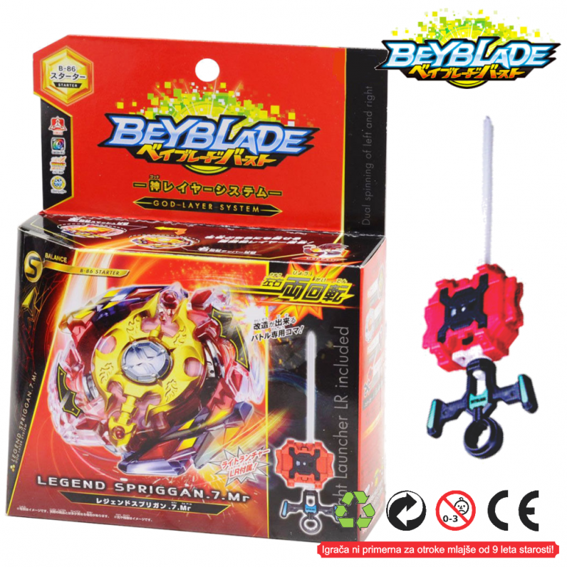 Legend Spriggan.7.Mr-B-86 BEYBLADE